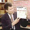 Dr. Dean Edell with the Color Vision Guide color blind test